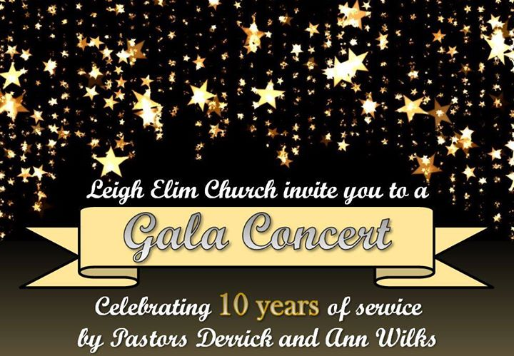 Gala Concert - 10yr celebration