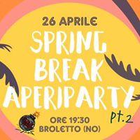 Spring Break AperiParty- U.P.O. Party