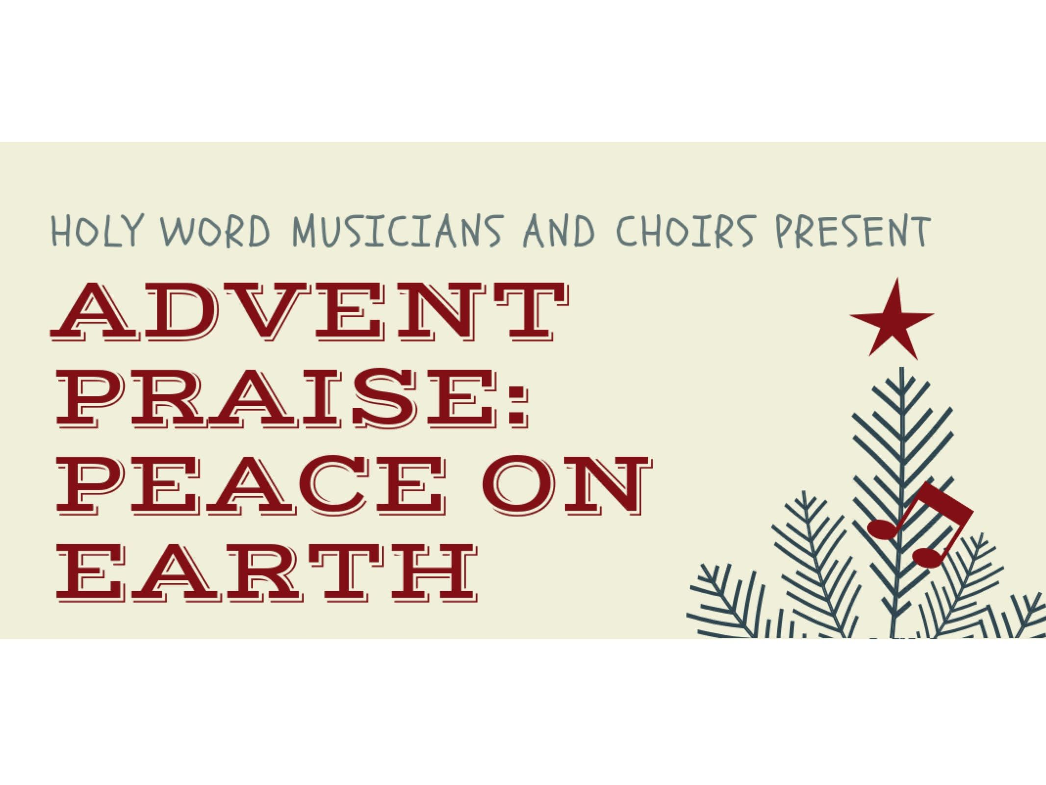 Advent Praise - Peace on Earth