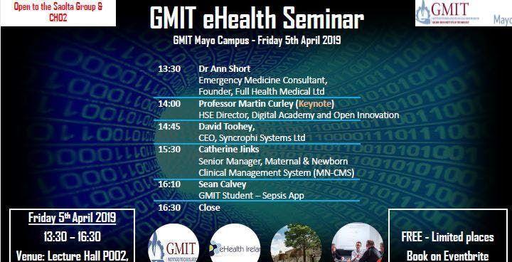 GMIT eHealth Seminar
