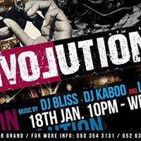 Revolution 18 January with DJ Bliss  Dj Kaboo &amp LucasDirty