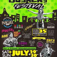 Bay &amp Algoma Buskers Festival