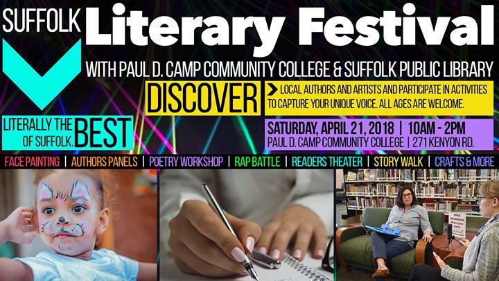 Suffolk Literary Festival At Paul D Camp Community College Suffolk