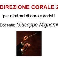 Corso Per Direttori Di Coro E Coristi 2017-18
