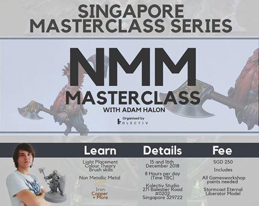 NMM Masterclass with Adam Halon