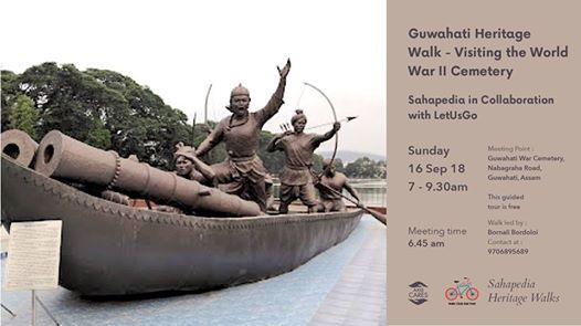 Guwahati Heritage Walk - Visiting the World War II Cemetery