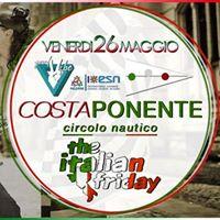Italian Friday Venerd 26 Maggio Costa Ponente