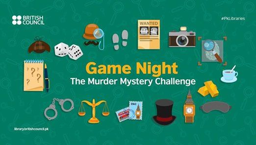 Game Night The Mder Mystery Challenge