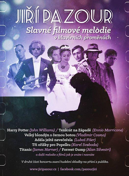 Ji Pazour Slavn filmov melodie v klavrnch promnch