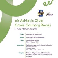 Eir Cross Country Races (under BHAA Rules)