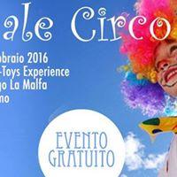 Carnevale Circo da Bruno Toys Experience