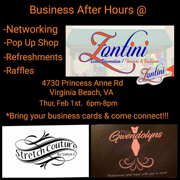 Business After Hours @Zontinis at Event Decorators Flower and ...