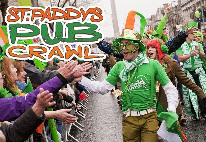 Albany Luck of the Irish St Paddys Weekend Pub Crawl 2019