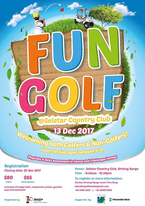 Fun Golf  Seletar Country CLUB 2017