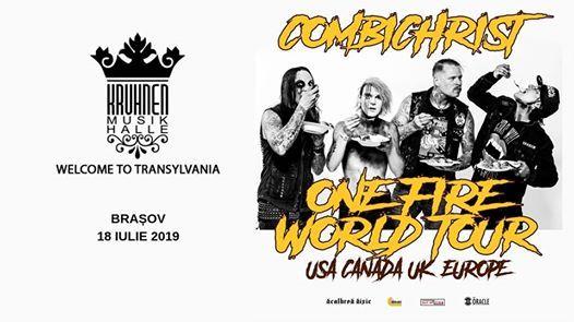 Combichrist [USA] - One Fire World Tour 2019