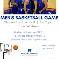 Mens Basketball Game
