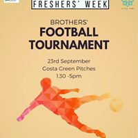 Brothers Football tournament