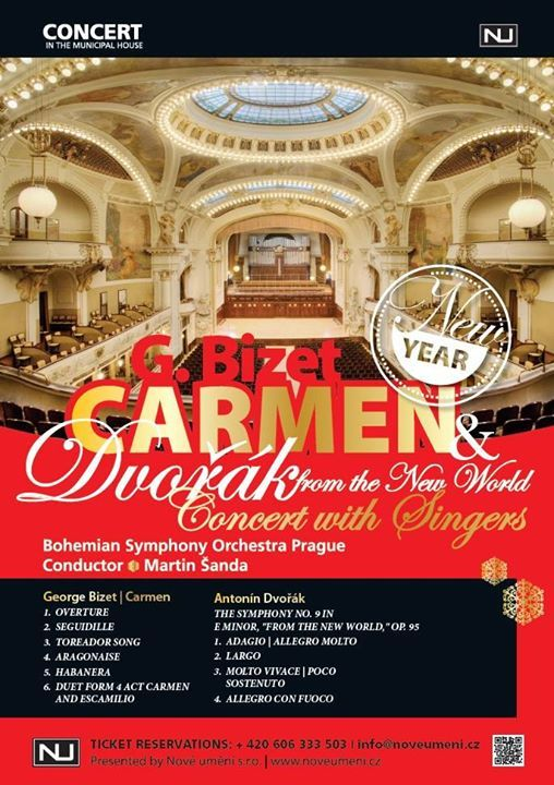 Best of Carmen and Dvorak  Concert with Singers