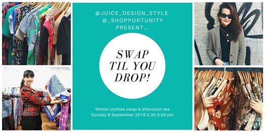 Swap Til You Drop - Winter clothes swap & afternoon tea at