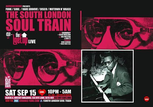 The South London Soul Train wThe Getup (Live)  Moh on 4 Floors