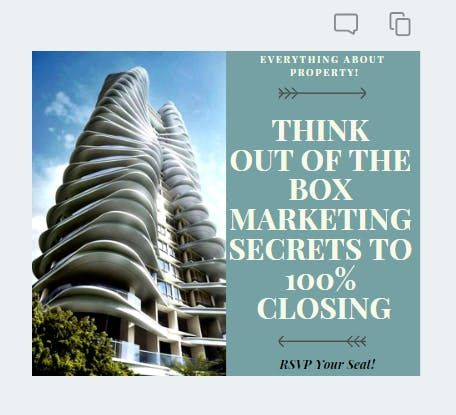 Property Out Of The Box Marketing Secrets to 100% Closing