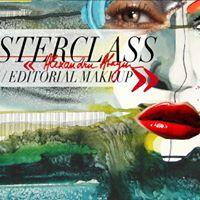 Masterclass Alexandru Abagiu  Beauty  Editorial Makeup