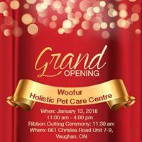 Woofur Vaughans Grand Opening