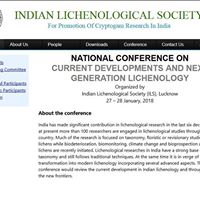 Conference -Current Developments and Next Generation Lichenology