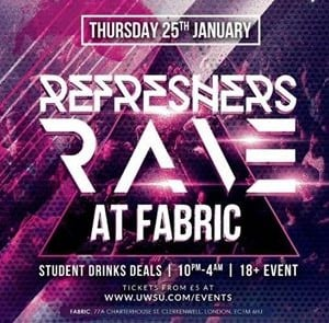 The Re-Freshers rave at Fabric 2018