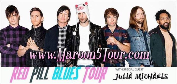 Maroon 5 in New York (Oct 14)