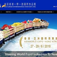 The First Belt and Road International Food Expo (Hong Kong) 2018