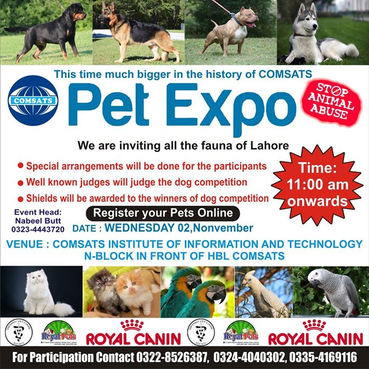 Pet Expo Season 2 at Comsats Institute of Information