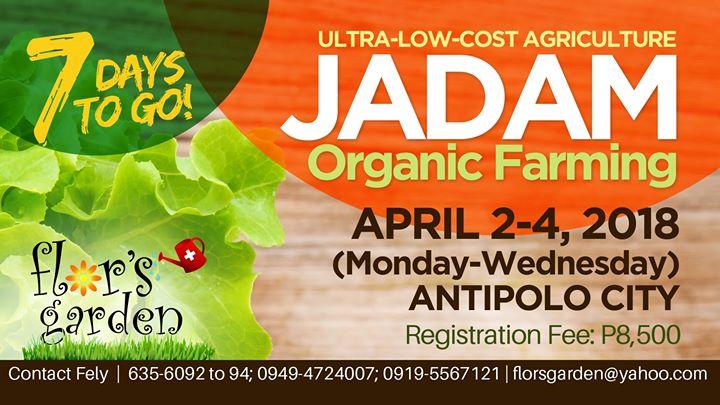 JADAM Organic Farming 2018
