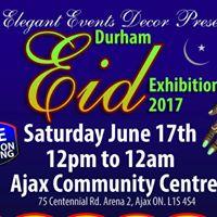 Durham Eid Exhibition 2017