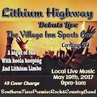 Lithium debuts at The Village Inn Sports Bar