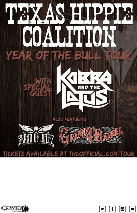 Texas Hippie Coalition w Kobra and the Lotus