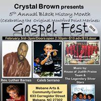 5th Annual Black History Month Gospel Fest