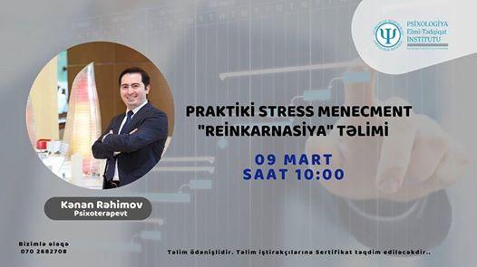 Praktiki Stress Menecment - Reinkarnasiya