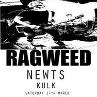 Ragweed NEWTS and KULK (Save The Date)