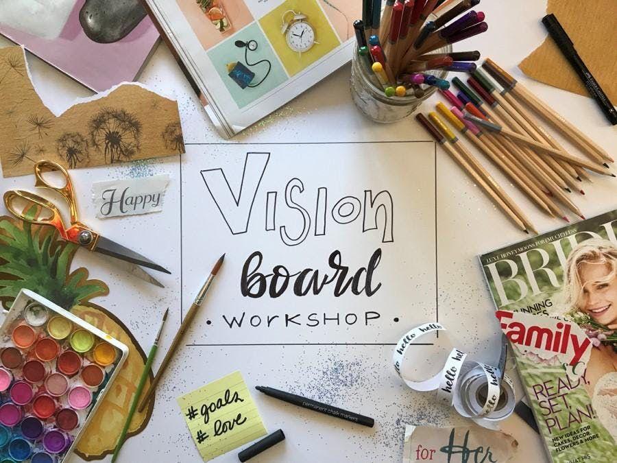 The I AM Vision Board Workshop