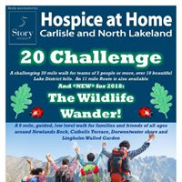 Hospice at Home 20 Challenge and Wildlife Wander