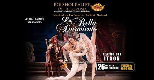 La Bella Durmiente Bolshoi Ballet de Bielorrusia