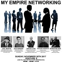 My Empire Networking at Venture X on Sunday November 26th