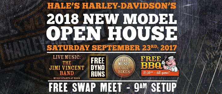 Hales 2018 New Model Open House & SWAP Meet at Hale's Harley ...