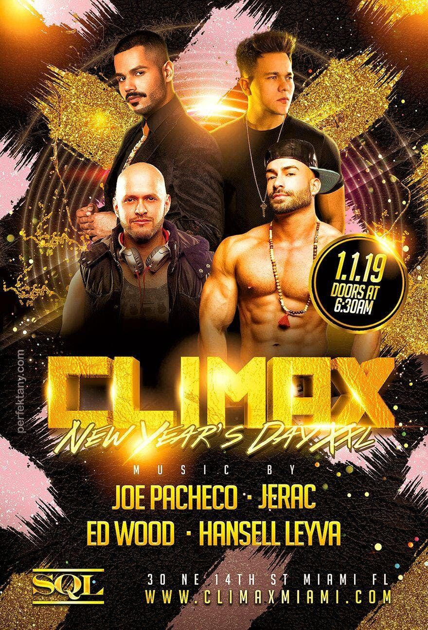 Climax XXL  New Years Day 1.1.19