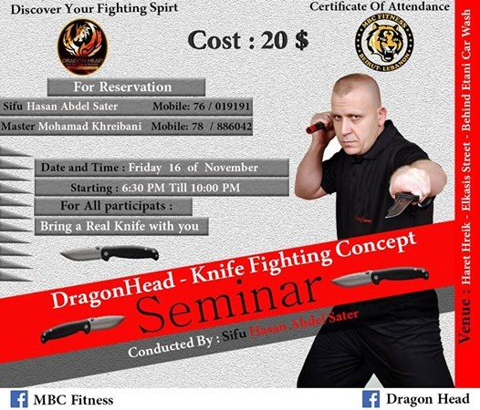 Knife Fighting Concept Seminar
