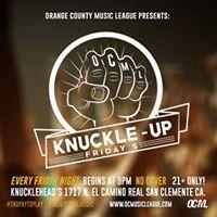 KnuckleUp Fridays 107 former friend No Swell &amp Weekend Bmb