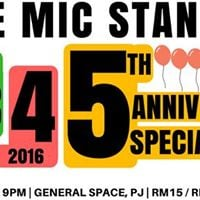 One Mic Stand 5th Anniversary Special feat Paul Ogata (USA)