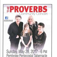 Community Concert with The Proverbs