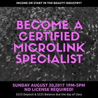Become a Certified Microlink Specialist